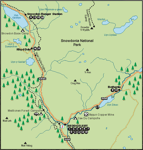 snowdonia national park map pdf